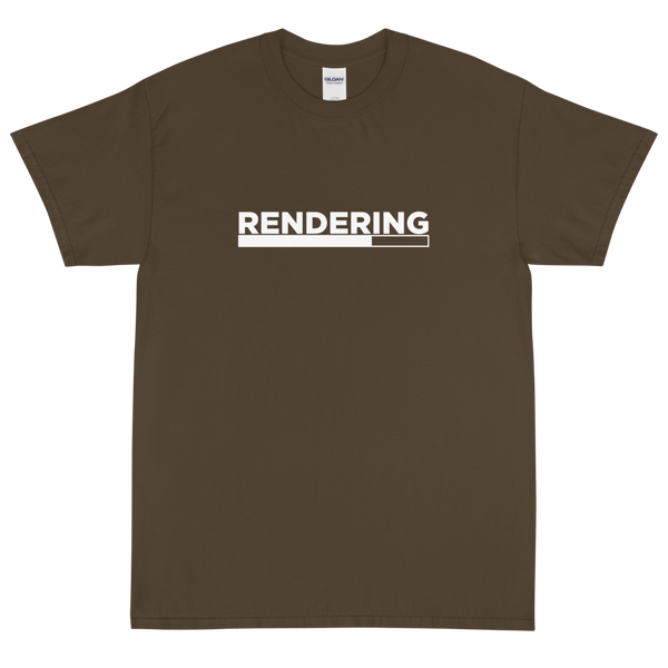 "Olive ""Render"" shirt for post-production"