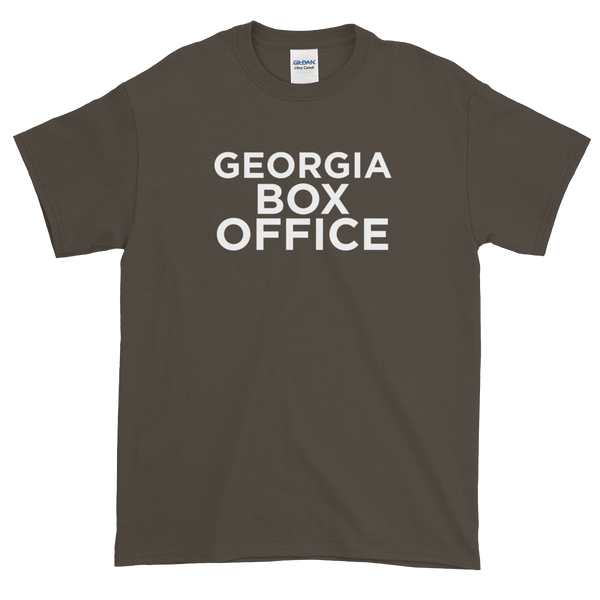 Georgia Box Office t-shirt white logo