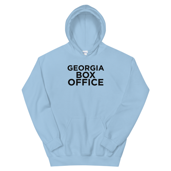 Light Blue Georgia Box Office logo hoodie