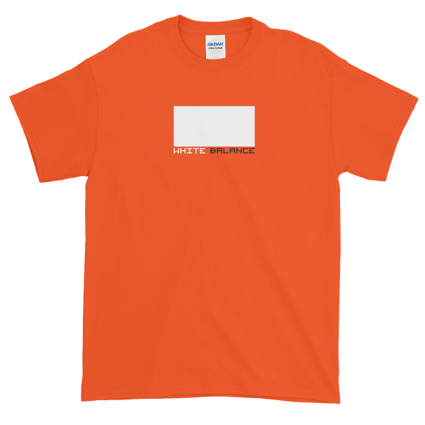 """White Balance"" t-shirt for filmmakers"