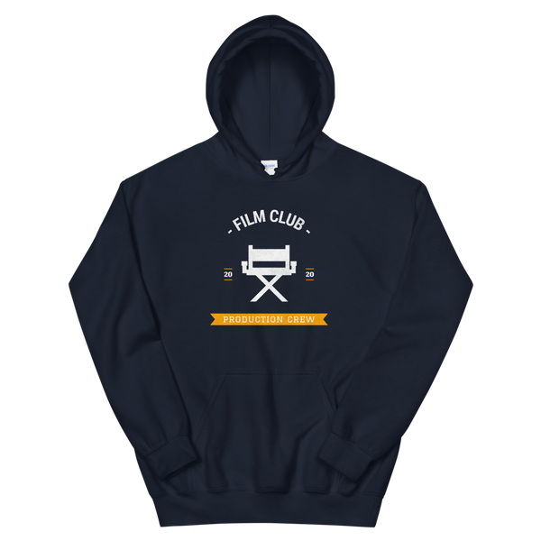 Navy Film Club Hoodie by Georgia Box Office