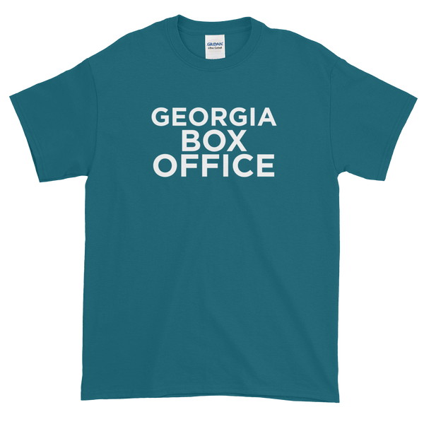 Teal Georgia Box Office t-shirt