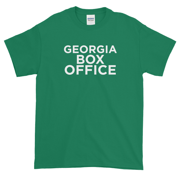 Green Georgia Box Office white logo t-shirt