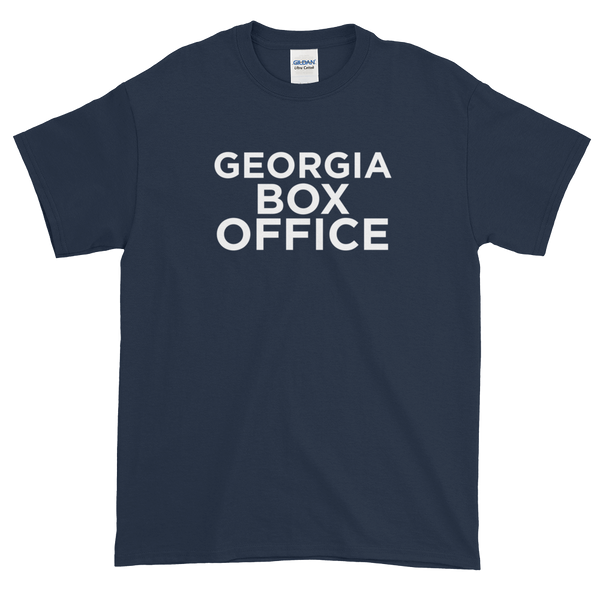 Navy Georgia Box Office t-shirt