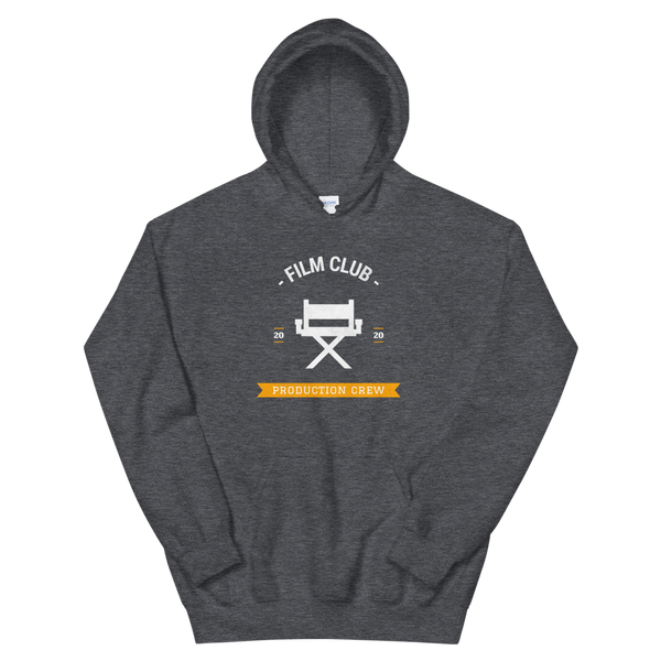 "Dark Gray ""Film Club"" Hoodie"