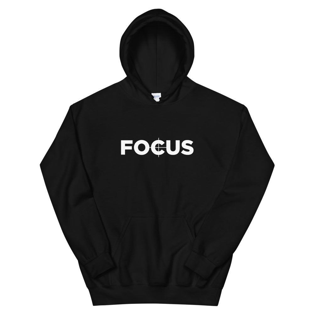Focus hoodie for filmmakers