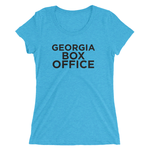 Aqua Georgia Box Office Women's T-Shirt