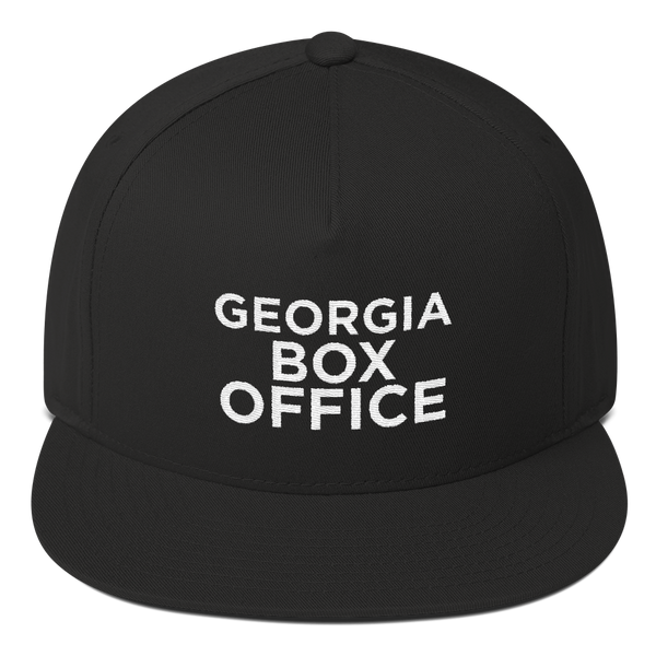 Black Georgia Box Office Snapback hat
