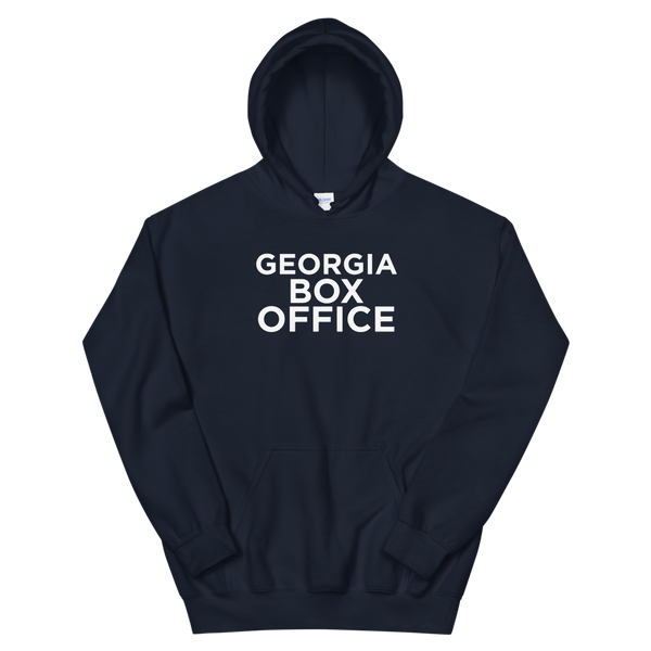 Georgia Box Office white logo hoodie