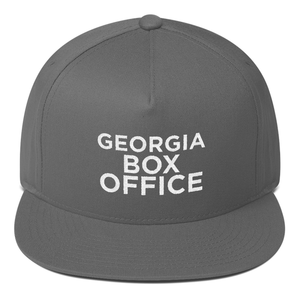 Gray Georgia Box Office Snapback hat
