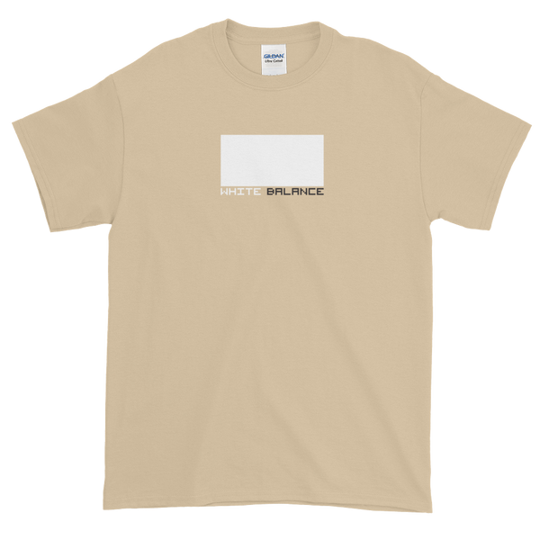 """White Balance"" t-shirt by Georgia Box Office"