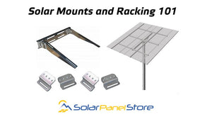 Solar Mounts and Racking 101
