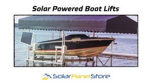 Solar Boat Lifts: Can I run my boat lift on solar?
