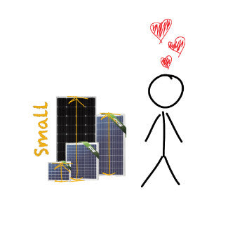 Shop Small Solar Panels at SolarPanelStore | SolarPanelStore