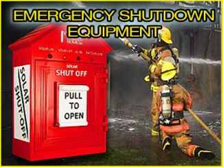 Emergency shut down equipment image
