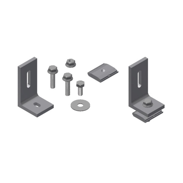 SnapNrack 10 deg - 45 deg Variable Tilt Hardware Kit - 242-92083