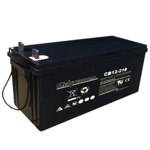 Centennial Battery 12V 210Ah AGM Group 8D - CB12-210
