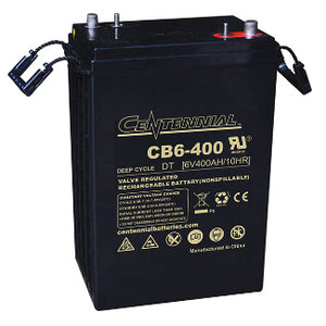 Centennial Battery 6V 400Ah AGM Group L16 Battery - CB6-400