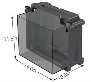 NOCO Dual 6V Commercial Grade Battery Box - HM426 Internal Dims