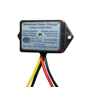 Eco Energy Charge Controller PWM 3A 12V - ASC-S3-12V