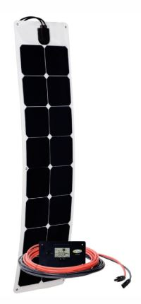 Go Power Solar Flex 50W 12V Solar Kit - GP-FLEX-50