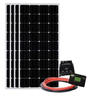Go Power Four Panel Solar Kit 680W - GP-SOLAR-AE-4