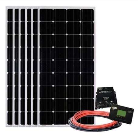 Go Power Six Panel Solar Kit 1020W - SOLAR-AE-6
