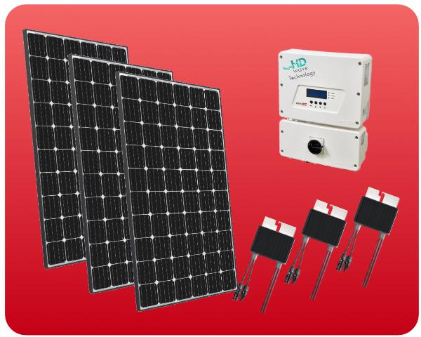 Grid-Tied Solar Package SolarEdge 3000W - COLO-01290