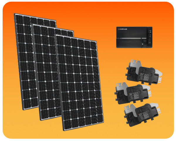 Grid-Tied Solar Package Enphase 3000W - COLO-01295