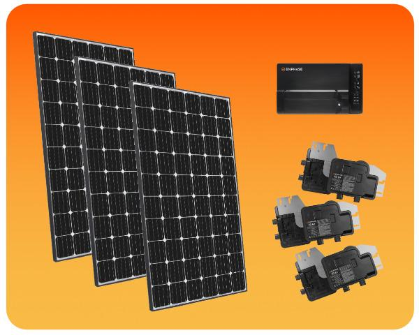 Grid-Tied Solar Package Enphase 4500W - COLO-01296