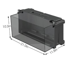 NOCO  8D Commercial Grade Battery Box - HM484 Internal Dims