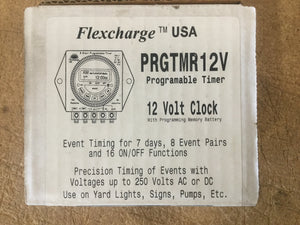 Clearance Sale! - Flexcharge 12V Programable Timer PRGTMR12V