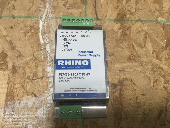 Clearance Sale! - RHINO Switching Power Supply PSM24-180S