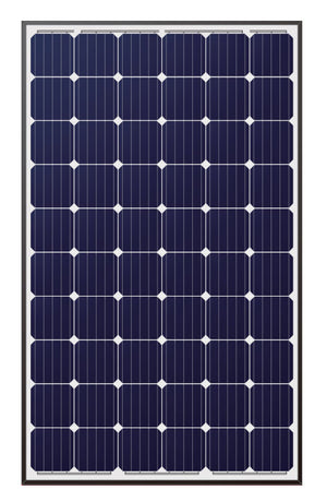 LONGi 305W 60 Cell Solar Panel Black on White - LR6-60PE-305M