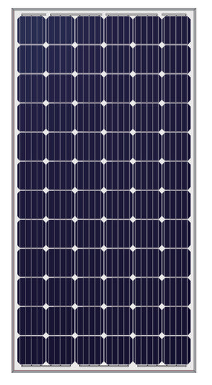 LONGi 365W 72 Cell Solar Panel Black on White - LR6-72PH-365M