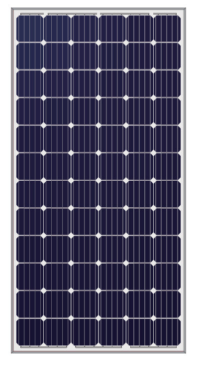 LONGi 360W 72 Cell Solar Panel Black on White - LR6-72PH-360M
