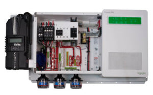 MidNite Solar Pre-Wired Off-Grid Inverter System with Schneider Electric Conext SW SW2524 Inverter and Midnite Classic 150 Charge Controller - MNSW2524-CL150