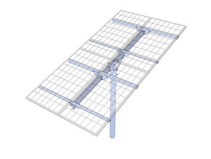 PLP Solar Panel Top-of-Pole Mount - TPM4-G
