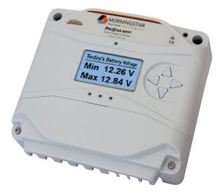 Morningstar Prostar Charge Controller MPPT 25A with Digital Meter  - PS-MPPT-25-M