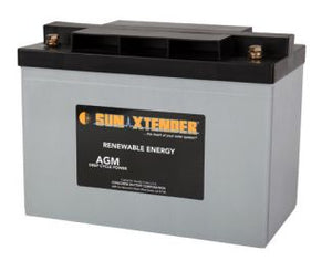Sun Xtender Battery 104AH 12V Sealed AGM - PVX-1040T