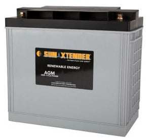 Sun Xtender Battery 153AH 12V Sealed AGM- PVX-1530T