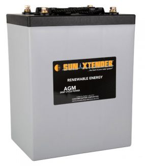 Sun Xtender Battery 305AH 6V Sealed AGM - PVX-3050T