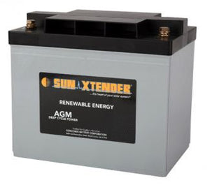 Sun Xtender Battery 69AH 12V Sealed AGM - PVX-690T