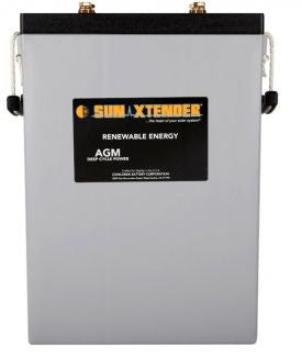 Sun Xtender Battery 1215AH 2V Sealed AGM - PVX-12150HT