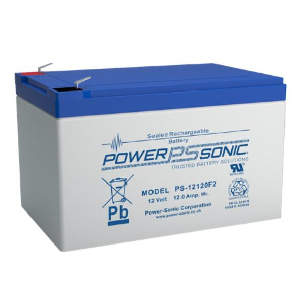Power-Sonic Battery 12 Volt 12 Ah Sealed AGM - PS-12120-NB