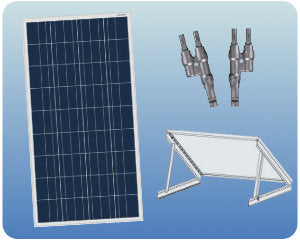 Colorado Solar RV Solar Expansion Kit 100W 12V Tilt Mount- COLO-01356