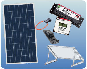 Colorado Solar RV Solar Kit 12V 100W Tilt Mount - COLO-01351