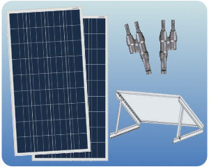 Colorado Solar RV Solar Expansion Kit 200W 12V Tilt - COLO-01355