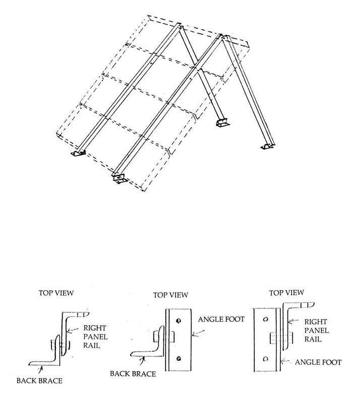 General Specialties S-Rail Universal Roof, Wall and Ground Mount