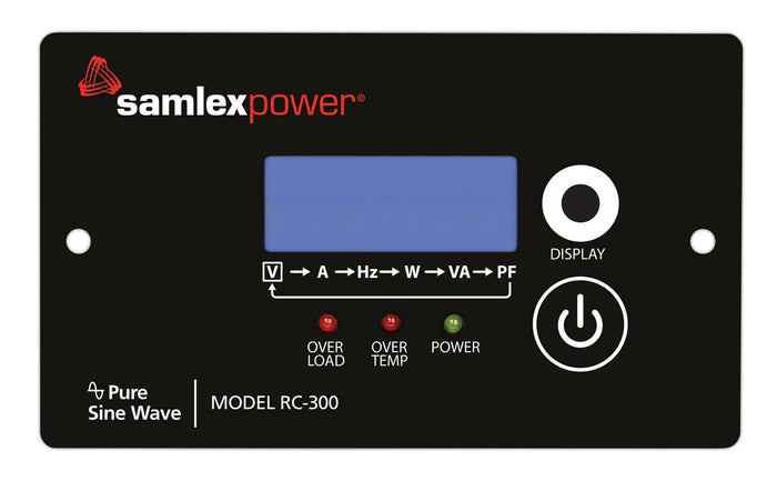 Samlex Inverter Remote Control - RC-300